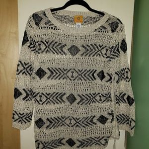 Crocheted, Ruby Road Sweater